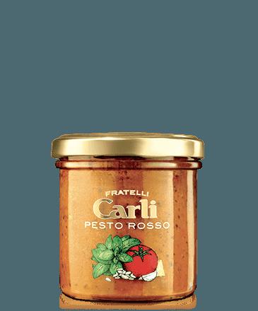 PRN - 4 GlÄser Pesto Rosso