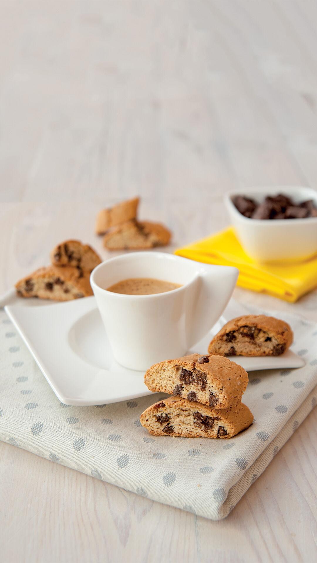 CNC - Cantuccini Mit Schokolade