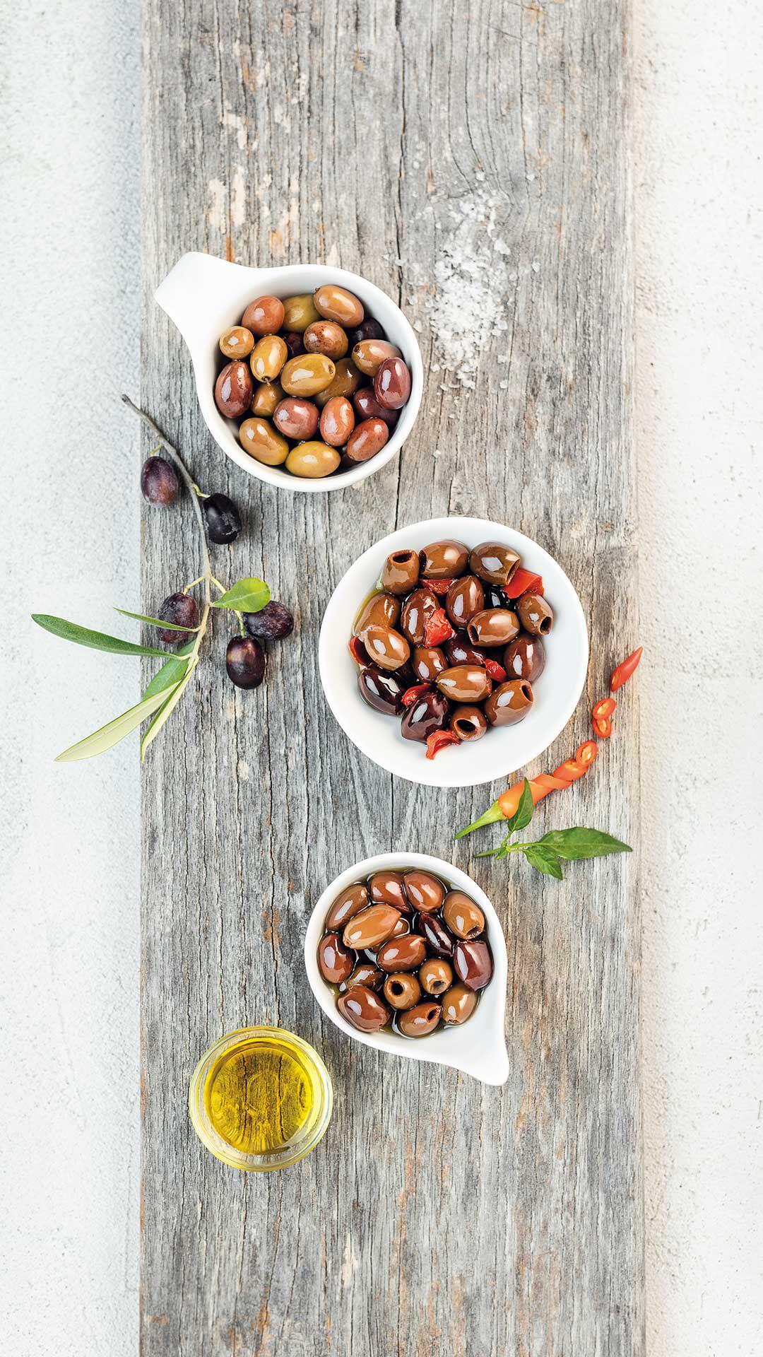 OP2 - 2 KÖstliche Entsteinte Oliven